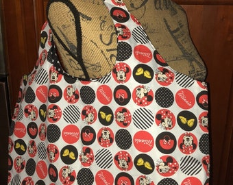 Minnie Mouse Dots Hobo Bag
