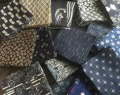50 x 4 quot squares of Authentic Japanese Fabric