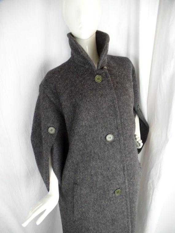 60s vintage GIVENCHY Paris haute couture grey wool