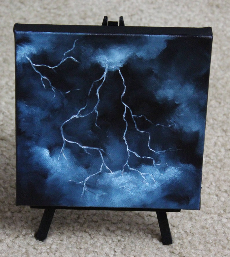 6x6 Mini Painting Original Oil Painting  Landscape image 0