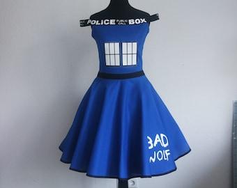 Police Box dress