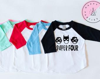 SUPERHERO First Birthday Shirt Superhero Cape