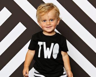 2nd Birthday Shirt Boy - Boys 2nd Birthday Shirt - Two Shirt Boy - Second Birthday Shirt Boy - Second Birthday- Two Birthday Shirt Boy