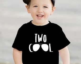 b87b87bc Second Birthday Shirt, TWO COOL, Two Year Old Birthday Shirt, 2nd birthday  shirt, Trendy kids clothes, Hipster kids clothes, Birthday shirt