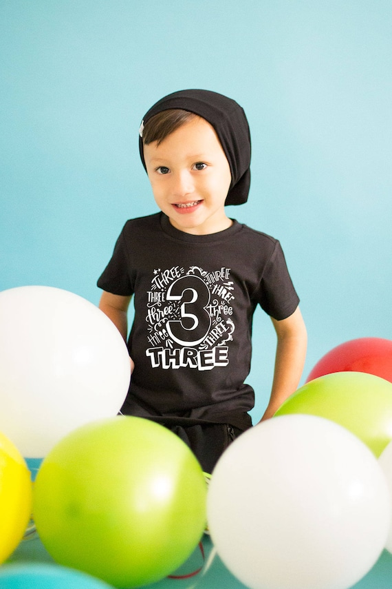 Boys Third Birthday Shirt 3rd Outfit