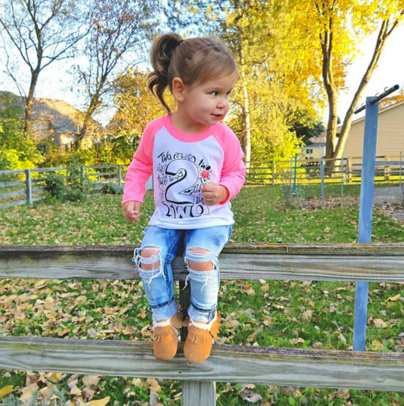Girls 2nd Birthday Outfits Shirt Second