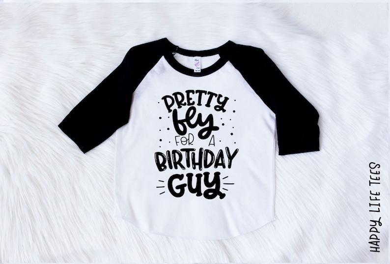 0b397173 Boys Birthday Shirt Pretty Fly for a Birthday Guy Boys | Etsy