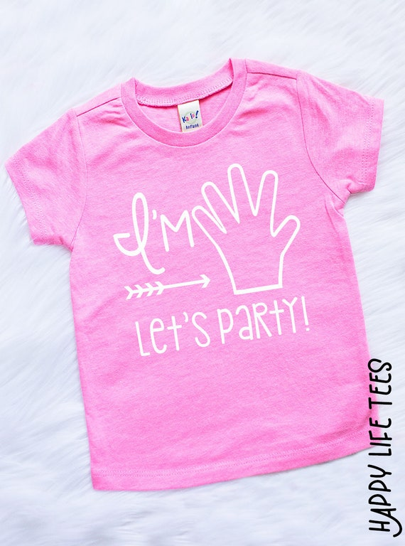 Girls 5th Birthday Shirt Outfit