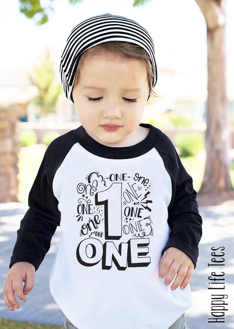 First Birthday Boy First Birthday Shirt First Birthday Etsy