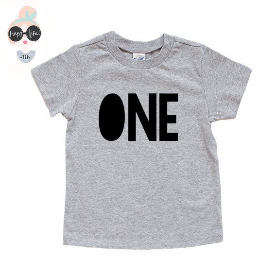 First Birthday Shirt 1st Boy One