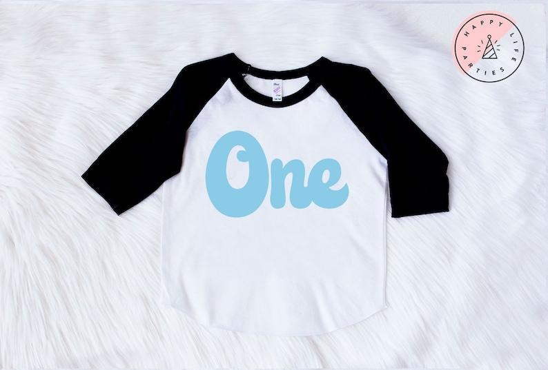 First Birthday Shirt 1st Boy One