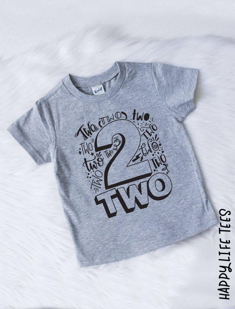 8db2fd1552bc1 2nd Birthday Shirt Second Birthday Shirt Two Shirt 2nd | Etsy