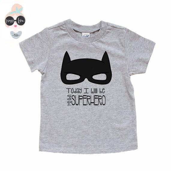 Les garçons super héros chemise-super héros chemise enfant  d757c3a1861