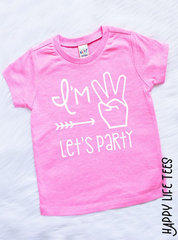 Girls Third Birthday Outfit Girls Third Birthday Shirt | Etsy