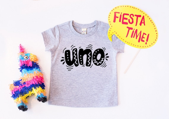 First Birthday Shirt Uno BIrthday One Boy