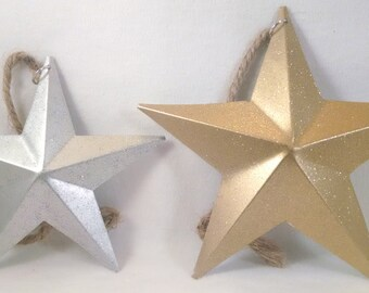 Barn Star Ornaments