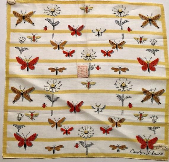 Vintage Designer Carolyn Schnurer Butterfly Ladybu