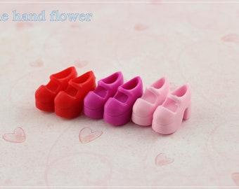 Barbie/Blythe Mary Jane Doll shoes Platform Mary Jane set Shoes.