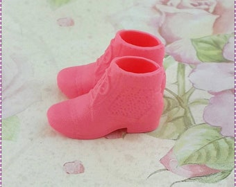 Chelsea doll Boot old rose Shoes.Middie Blythe Doll shoes B;ythe