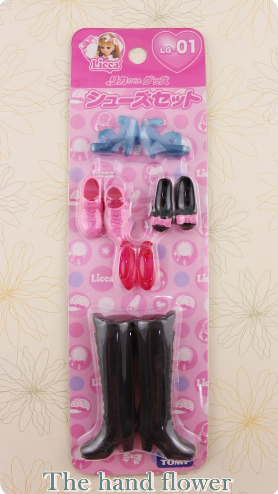 5 Color in set *NEW* Licca Shoes Set