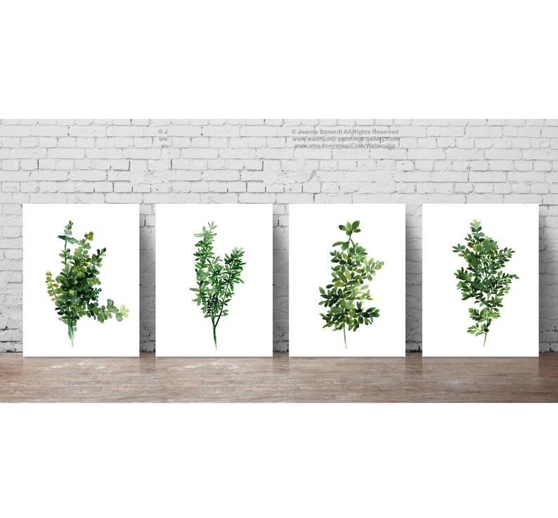 Herbes et épices cuisine moderne toile murale art photo print 76x50cm