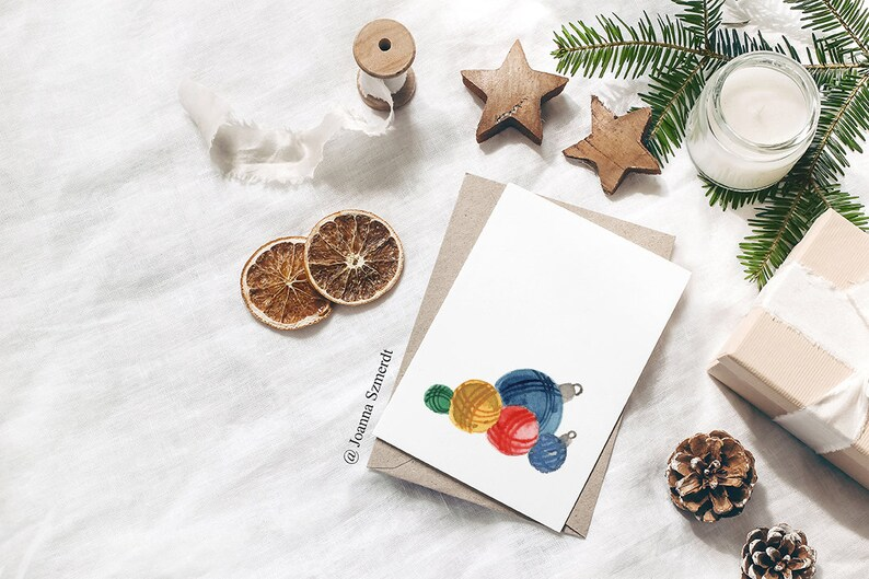 Christmas Ornaments Download Christmas Cards Christmas Tree Decor Ornaments Painting Downloadable Art Christmas Gifts Ornament Poster