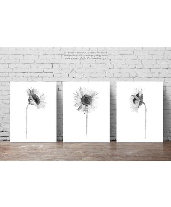 Conjunto de ilustración libro blanco de negro flor de | Etsy