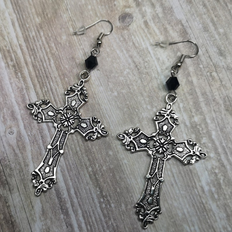 Byzantine Cross Earrings image 0