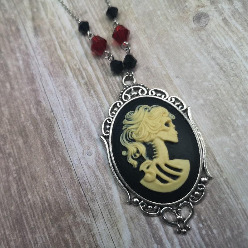 Skeletal Maiden Necklace image 0
