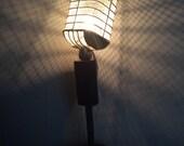 vintage Microphone lamp