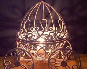 Cinderella carriage night light