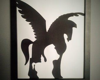 Pegasus wall art