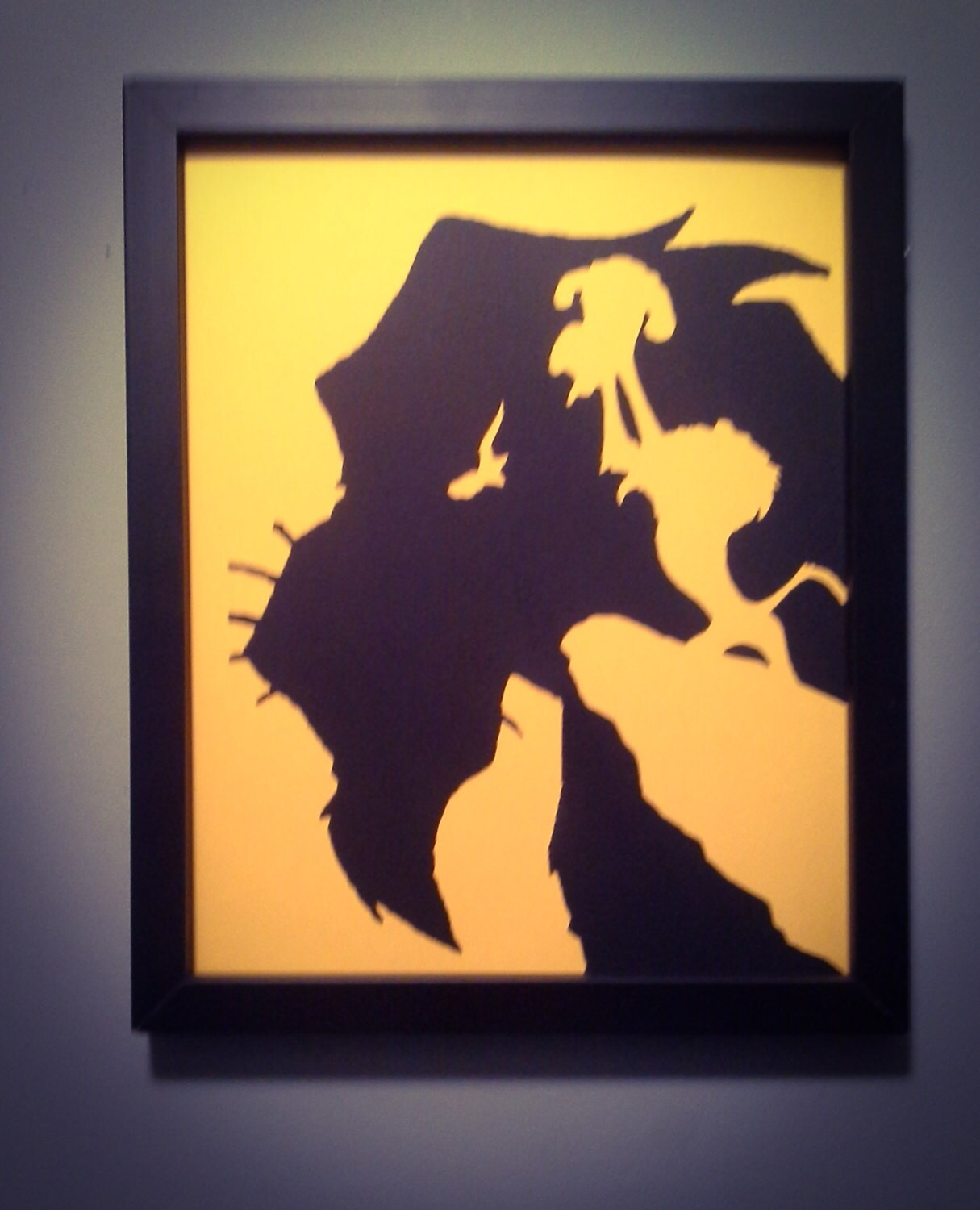 The Lion King Scar wall art   Etsy