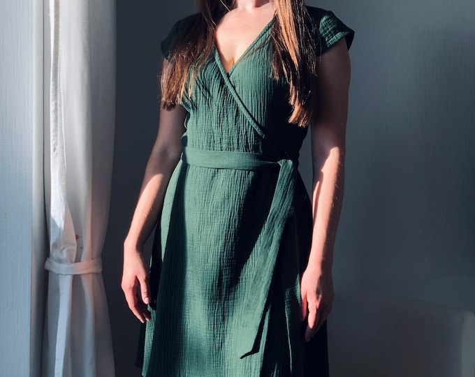 Linen Dresses & Skirts