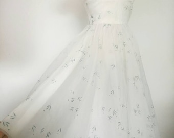 Vintage 50s Cupcake Prom Dress Cheap