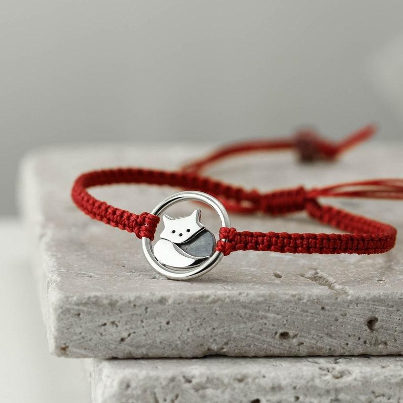 Sterling Silver Red Panda Bracelet Red Panda Jewellery Gifts