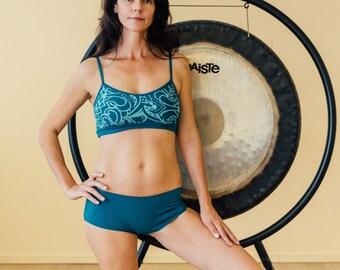 Yoga bra, natural organic underwear, bamboo intimatewear, hiphuggers