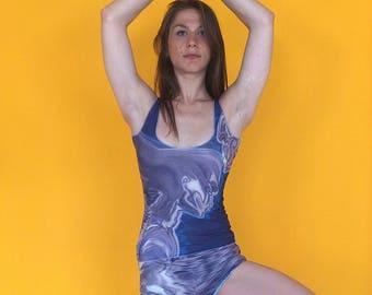 Hot Yoga top and shorts, Beach yoga top, Beach shorts