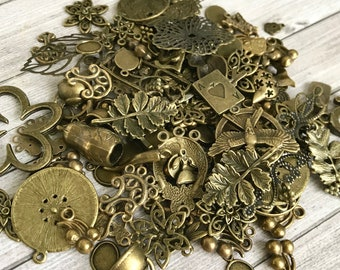 Lot 10-100 Pcs Retro Silver Antique Tone Halloween Pumpkin Charms Pendants DIY