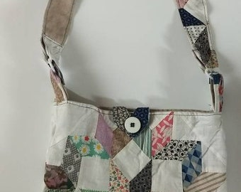 Quilted Messanger Bag