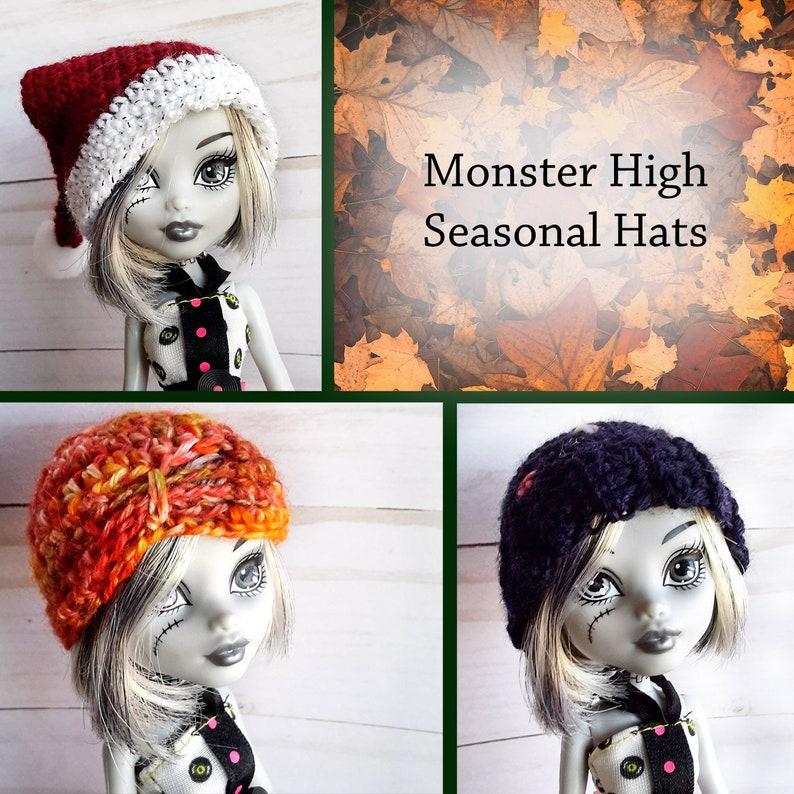 Crochet elf hat for Kelly doll 4 Free Pattern | Bohemian Cat | 794x794