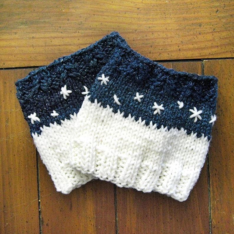 Beginner Boot Cuff Pattern Knitting Pattern Knit Boot Cuffs Easy Knit Leg Warmers Pattern Knit Pattern Winter Accessories Pdf