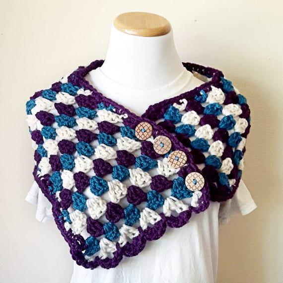 Crochet Cowl Pattern Crochet Infinity Scarf Pattern Crochet Etsy