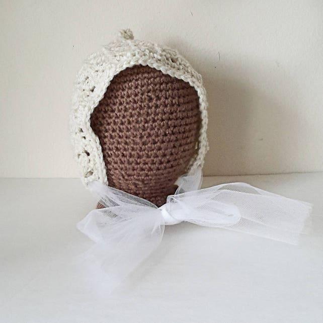 Crochet Baby Pixie Bonnet Pattern Crochet Pattern Crochet Etsy