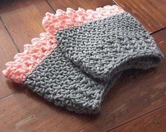 Boot Cuff pattern, crochet pattern - crochet boot cuffs - boot cuffs - leg warmers - pattern - crochet pattern - winter accessories - pdf