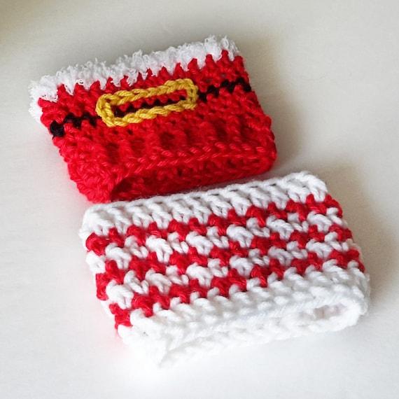 Cup Cozy Pattern Christmas Cozy Crochet Coffee Sleeve Santa Etsy