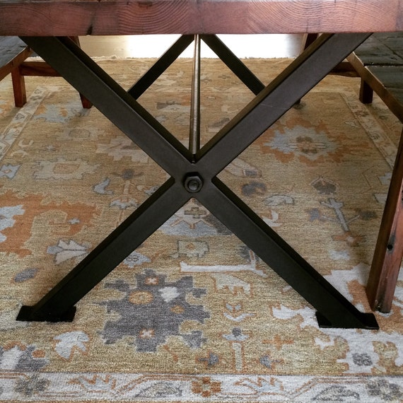 X Metal Table Legs Etsy