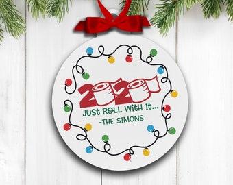 Personalized family Christmas ornament christmas vacation ornament gift mbo-065 destination ornament holiday ski trip ornament