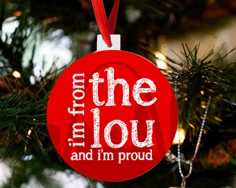 saint louis ornament  st. louis ornament - i'm from the 'lou and i'm proud STLPO