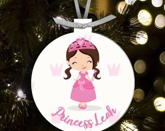 princess ornament - gift for princesses - princess christmas decoration PCCO